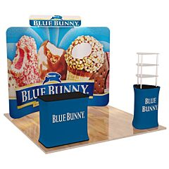 10ft Custom Booth Package C