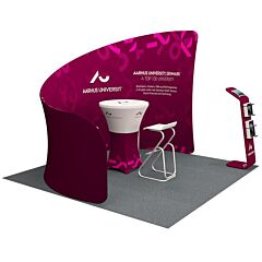 10ft Custom Booth Package D