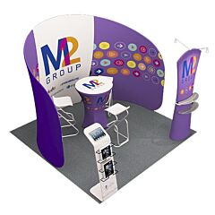10ft Custom Booth Package F