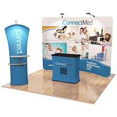 10ft Custom Booth Package H