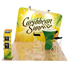 10ft Custom Booth Package L