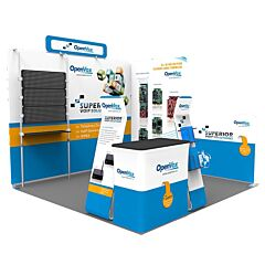 10ft Custom Booth Package O