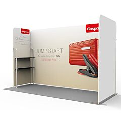 10ft Custom Booth Package P