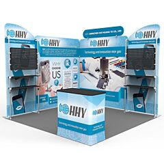 10ft Custom Booth Package Q