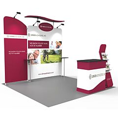 10ft Custom Booth Package R