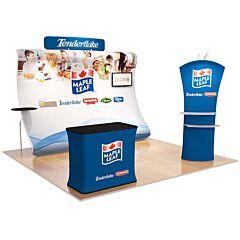 10ft Custom Booth Package K