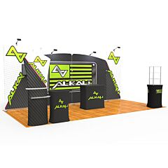20ft Booth Package D