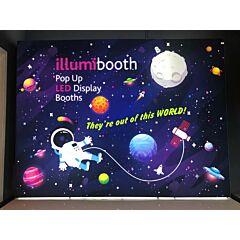 10ft LED Backlit Backdrop