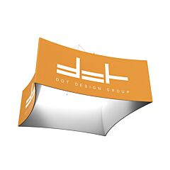 Concave Square Hanging Banner