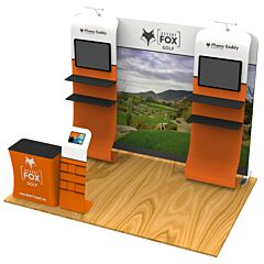 10ft Custom Booth Package B