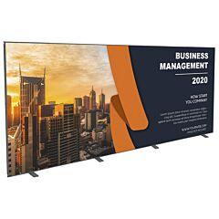 20ft Wide InstaLoc Display Wall