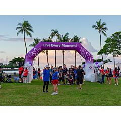 St. Francis Healthcare System of Hawaii 25ft Freestanding Arch