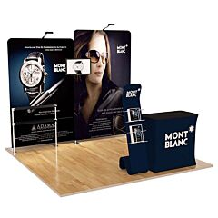 10ft Custom Booth Package A