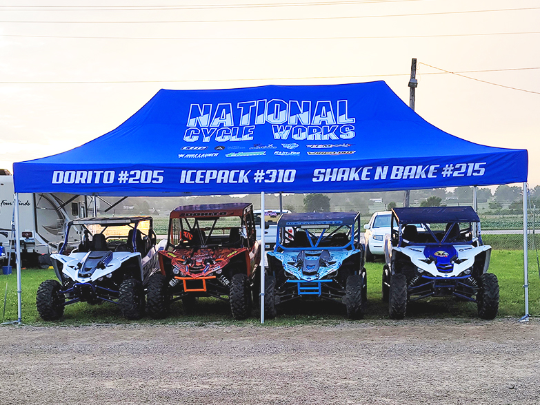 National Cycle Works 13ft x 26ft Custom Tent