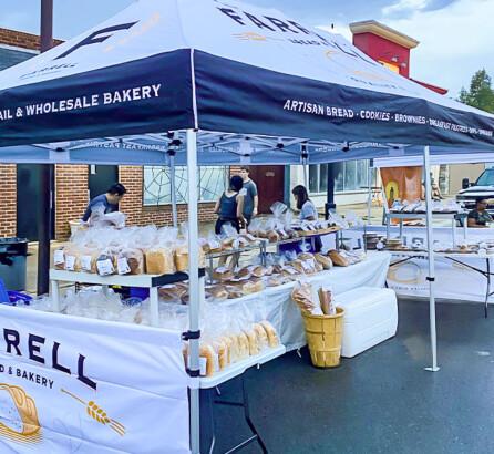 Farrell Bread & Bakery Custom Tent